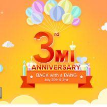 Xiaomi की तीसरी सालगिरह, दे रहा 1 रूपए में फोन