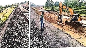 आरवीएनएल के कारण, रेलवे ट्रेक की सेफ्टी हो रही प्रभावित