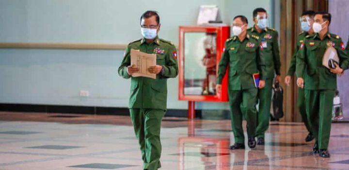 म्यांमार में तख्ता पलट, सेना ने अपने हाथ में ली देश की कमान