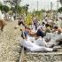 किसान, मजदूर अब 13 मार्च को रेल ट्रैक को जाम करेंगे : बीकेयू